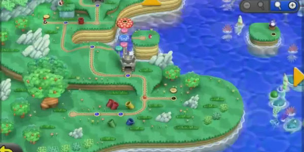 Big World Map Returns In New Super Mario Bros U Darkain Arts Gamers