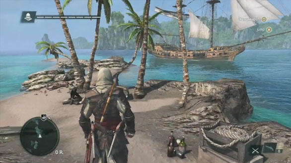 ... absolutely loved the naval combat in AC3, you'll be pleased to know  that it seems like huge sailing ships are virtually AC4's open world game  cars in ...