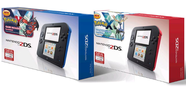 Exclusive Nintendo 2DS Pokémon X and Y Bundles Coming