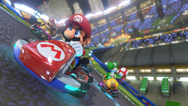 Mario Kart 8 Revving up Towards 1 Million Sold