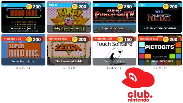 Club Nintendo Rewards – September 2014