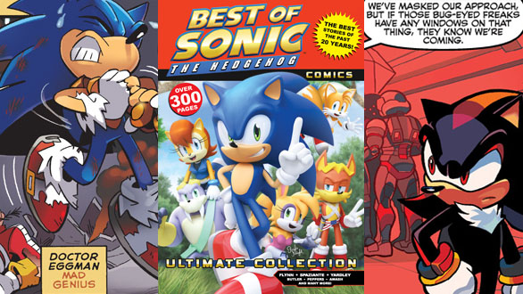 over 300 page best of sonic comic released today darkain arts gamers