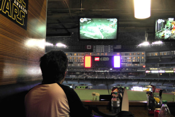 Gaming at Rogers Center