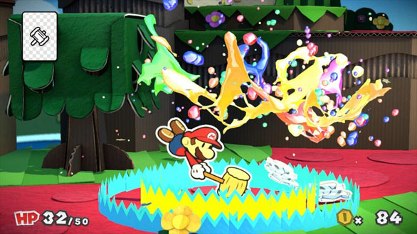 Paper Mario Color Splash Battle