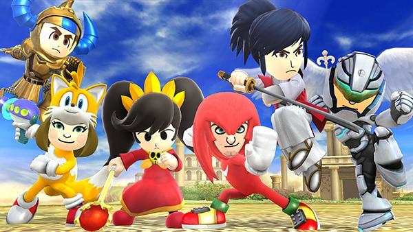 Mii Fighter Costumes DLC coming to Super Smash Bros  Ultimate in